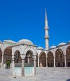 Blauwe moskee, Instanbul Stock Foto's