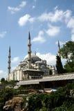 Blauwe moskee in Istanboel Stock Afbeeldingen