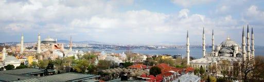 Blauwe moskee Istanboel Royalty-vrije Stock Afbeeldingen