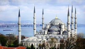 Blauwe moskee Istanboel Stock Foto's