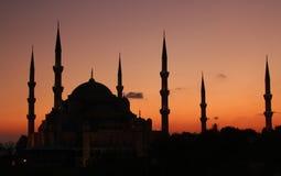 Blauwe Moskee Istanboel Stock Afbeeldingen
