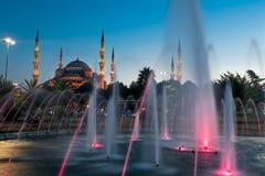 Blauwe Moskee - Istanboel Stock Foto's