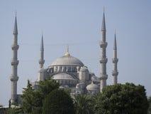 Blauwe moskee, Istanboel Royalty-vrije Stock Foto's