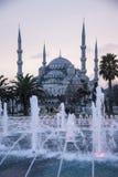 Blauwe Moskee Istanboel Royalty-vrije Stock Foto's