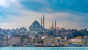 Blauwe Moskee in Istanboel, Turkije royalty-vrije stock foto