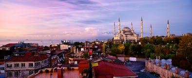 Blauwe Moskee, Istanboel, Turkije Stock Fotografie