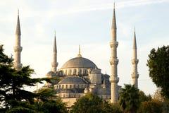 Blauwe Moskee, Istanboel, Turkije royalty-vrije stock foto's