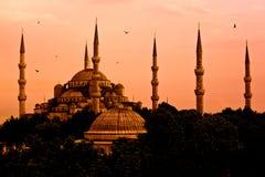 Blauwe Moskee, Istanboel, Turkije Stock Foto