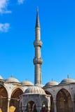 Blauwe Moskee in Istanboel Turkije Stock Foto's