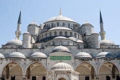 Blauwe Moskee in Istanboel Turkije royalty-vrije stock afbeelding
