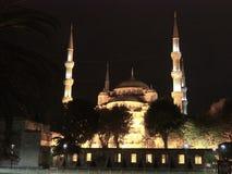 Blauwe moskee, Istanboel, Turkije Stock Afbeelding