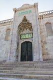 Blauwe moskee noordelijke ingang, Istanboel Royalty-vrije Stock Fotografie