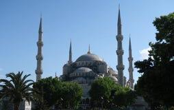 Blauwe Moskee - sultan-Ahmet-Camii, in Istanboel, Turkije Stock Afbeelding