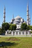 Blauwe Moskee (Sultanahmet Camii) in Istanboel Royalty-vrije Stock Foto's