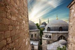 Blauwe moskee Sultanahmet, Istanboel, Turkije Stock Foto