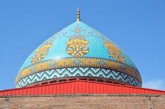 Blauwe Moskee in Yerevan stock fotografie