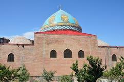 Blauwe Moskee in Yerevan Stock Foto