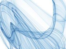 Blauwe motie stock illustratie
