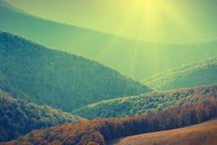 Blauwe mountains_v Royalty-vrije Stock Afbeelding