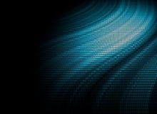 Blauwe mozaïek abstracte achtergrond Stock Afbeelding