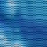 Blauwe mozaïekachtergrond Stock Fotografie
