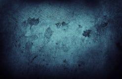 Blauwe muur Royalty-vrije Stock Fotografie