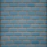 Blauwe muur - vierkant Stock Foto's