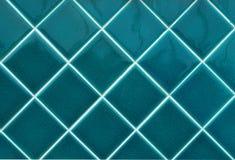 Blauwe muurtegels Royalty-vrije Stock Foto's