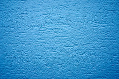 Blauwe muurtextuur Stock Afbeelding