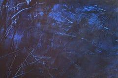Blauwe muurtextuur Stock Afbeeldingen