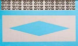 Blauwe muurtextuur als achtergrond Royalty-vrije Stock Fotografie