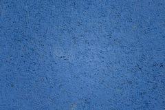 Blauwe muurtextuur voor achtergrondgebruik Stock Afbeelding