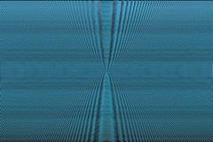 Blauwe neon halftone abstracte achtergrond Hypnotic optische illusietextuur Glitch effect patroon royalty-vrije illustratie