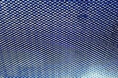 Blauwe netachtergrond in de keuken Royalty-vrije Stock Afbeeldingen