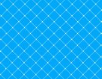 Blauwe nettenachtergrond Stock Foto