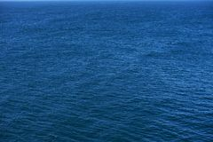 Blauwe Oceaan Royalty-vrije Stock Fotografie