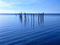 Blauwe Oceaan Royalty-vrije Stock Foto