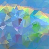 Blauwe oceaan abstracte achtergrond Royalty-vrije Stock Foto's