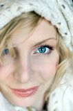 Blauwe ogen Royalty-vrije Stock Fotografie