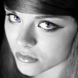 Blauwe ogen Stock Afbeelding
