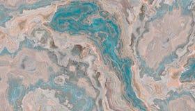 Blauwe onyx marmeren textuur Royalty-vrije Stock Afbeelding