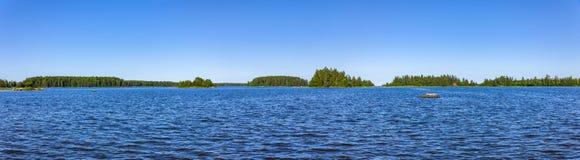 Blauwe Oostzee in Zweden royalty-vrije stock afbeeldingen