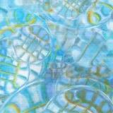 Blauwe oppervlakte Royalty-vrije Stock Foto