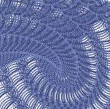 Blauwe Organische Structuur stock illustratie
