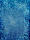 Blauwe Overladen Achtergrond Royalty-vrije Stock Afbeeldingen