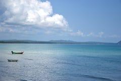 Blauwe overzees. Stock Fotografie