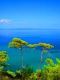 Blauwe overzees