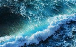 Blauwe overzees Stock Foto's