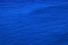Blauwe overzeese achtergrond stock foto