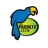 Blauwe Papegaaivogel royalty-vrije illustratie